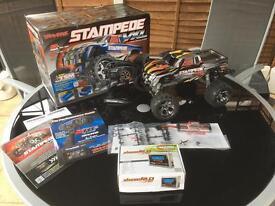 Rc Traxxas stampede VXL brushless monster truck. Full package!!