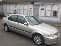 Rover 45 1.4 5dr Just 63000 Supplied with 1 Years Mot