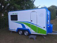 2018 Knaus Deseo Transport Plus 4 berth caravan/ trials bikes, motorbike trailer, toy hauler
