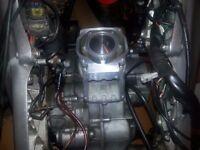 Aprilia rs 125 engine new shape - ( 2008 ) - complete - ( top end rebuild less than 200 miles ago )