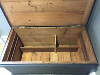 Victorian carpenters plane trunk recently renovated and in excellent condition