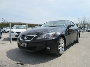 2012 Lexus IS 250 SPORT / ONLY 79,351 KILOMETERS