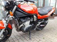 Suzuki 600 Bandit. 12months mot. garage find. Carbs cleaned & set up, brakes overhauled,as new tyres