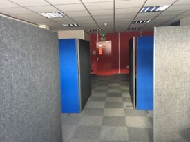 Office clearout- room dividers