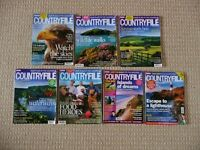 7 Countryfile Magazines Countryside Wildlife Farming Food Outdoor Gear Walks Gardening Topics