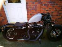 Harley Davidson 48 1200xl Custom Bobber