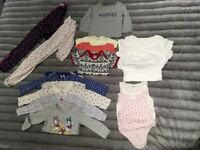 8ae4c9fdd4 Sleep suits bundle of Baby Girls clothes H M GAP etc 18-24 months 15 items