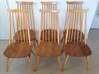 Vintage Ercol Blonde Windsor Goldsmith Dining Chairs - £90 per pair