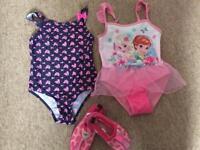 Girls swimsuit