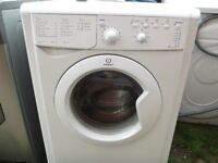 INDESIT 6KG WASHING MACHINE IN GOOD WORKING ORDER WILL NEED A CLEAN NOTHING TO BAD