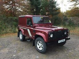 2002 (52) Land Rover Defender 90 County TD5 (no VAT)