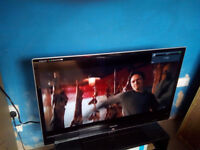 sold as seen smart 3d 40 inch intrenet freeview lcd tv and 3d glasses