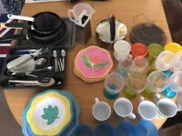 Camping kitchen accessories