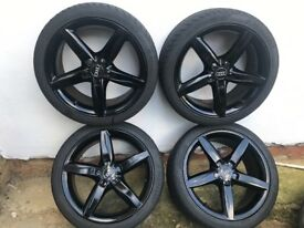 Gloss Black Mint Condition Alloys