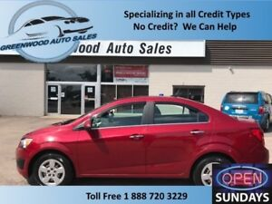 2014 Chevrolet Sonic LT Auto! LOW KM! GREAT DEAL! CALL NOW!