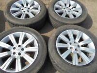 """20"""" RANGE ROVER STORMER STYLE ALLOY WHEELS / TYRES"""