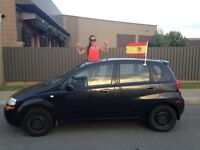 2006 Suzuki Swift S Berline nego