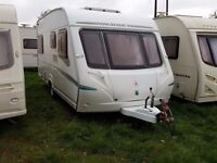 2006 Abbey Aventura 317 4 Berth FIXED BED Caravan
