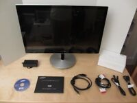 """SAMSUNG SERIES 9 S27B970D 27"""" WIDESCREEN QUAD HD LED MONITOR WITH BUILT IN SPEAKERS."""