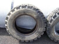 Land Rover tyres 7.50 X16