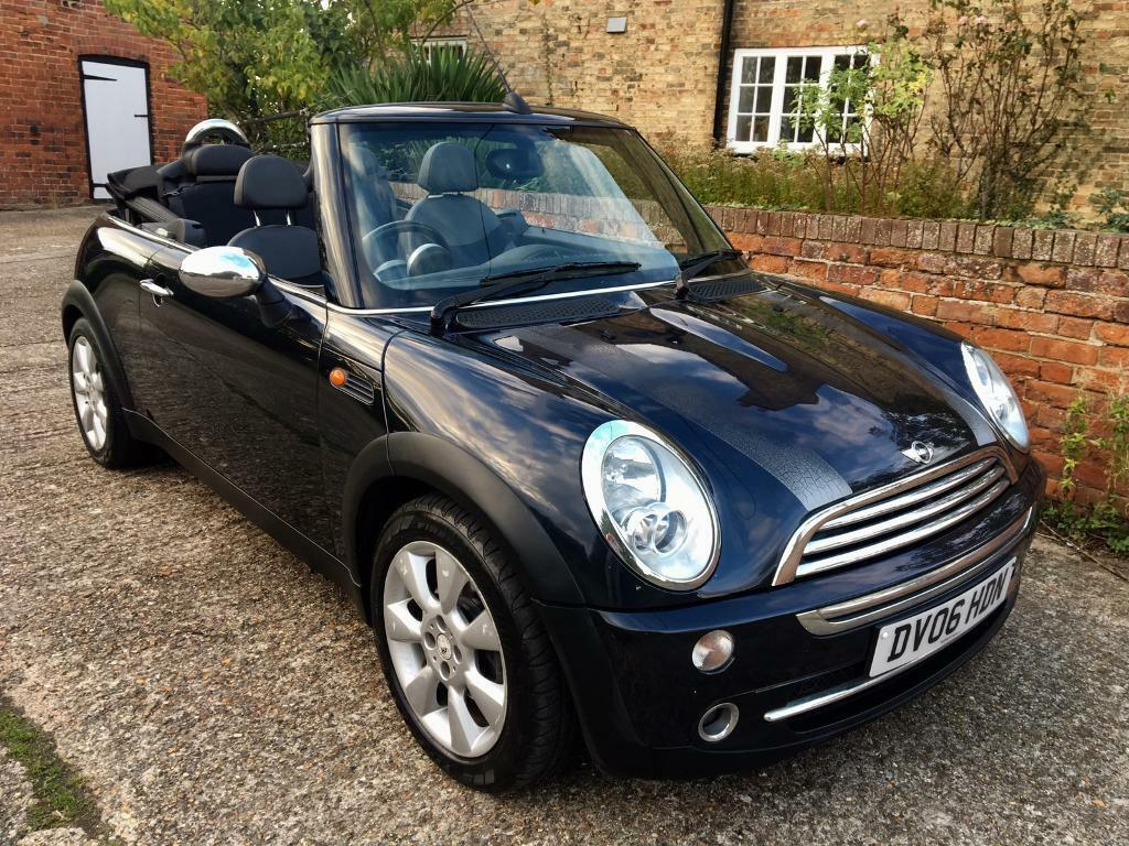 2006 Mini One Convertible, 12 months MOT, HPI clear