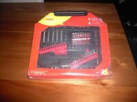 101 PIECE SCREWDRIVER AND BIT SET with REVERSABLE RATCHET, BRAND NEW, STILL SEALED