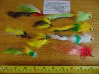 Predator Fishing Flies 9 x Big Eyed Flies