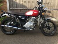 Sinnis 250 Retrostar 2015 Low Mileage in Great Condition