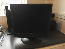 "Dell 17"" flat screen computer monitor second"