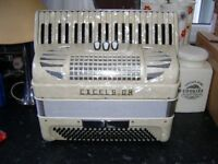 excelsior 120 bass accordion light weight model
