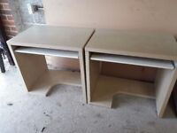 Ikea Children's Desks in light beech, very good condition. Two for sale but will sell seperately