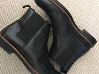 Leather Chelsea boots COS