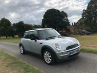 MINI ONE COOPER 1.6 3DOOR HATCH IN SILVER