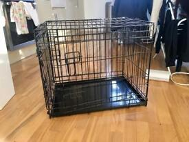 Crate and pen for small dogs/other animals.