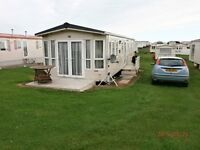 FOR LET 6 BERTH LUXURY CARAVAN ON EYEMOUTH HOLIDAY PARK.