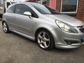 VAUXHALL CORSA 1.6 TURBO NOT VXR
