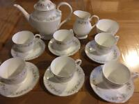 Fine bone china tea set