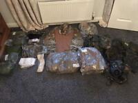 Hunting/Military Style Clothing, Boots and Equipment!! JOB LOT OR INDIVIDUAL!!!