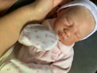 Reborn baby doll Lane by Sandra White
