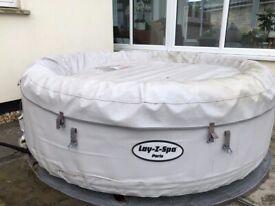 Inflatable Hot tub - Lay-Z-Spa Paris