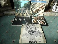 BEATLES ALBUMS- VINYL - ALL COLLECTABLES- BIDS OVER £15 CONSIDERED