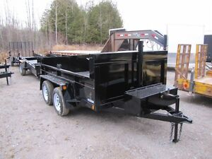2017 Advantage 3.5 TON 6'x12' DUMP TRAILER Peterborough Peterborough Area image 1