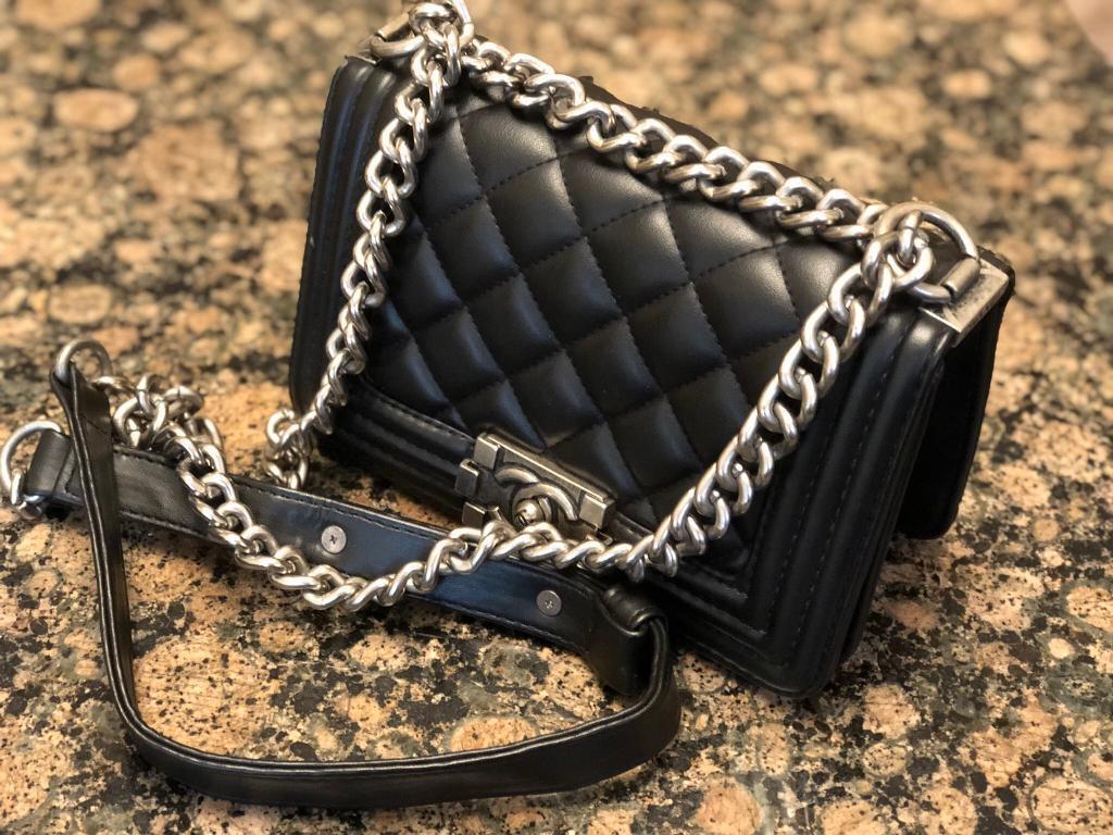 Ladies Designer Small Black Bag  355c6553a