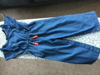Three toddler girl jumpsuits 2-3 yrs