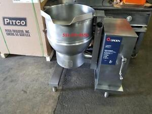MINT CONDITION *** GROEN ** Marmite a Vapeur***Steam Kettle***  20 Gallon Gas - Gaz