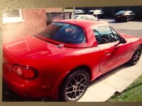 Mazda MX5 True Red Hard Top