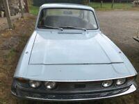 1972 Triumph 2000 Mk2 for restoration