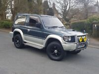 MITSUBISHI PAJERO 2.8 TD AUTO 4X4 4WD 🔹VERY LOW MILEAGE🔹 ✴RARE COLOUR✴