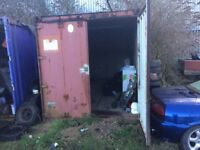 20ft storage container for rent in Long Eaton