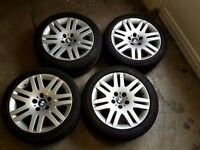BMW 18 inch alloys